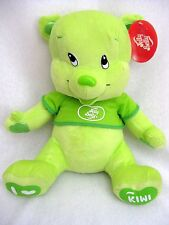 Nanco Jelly Belly Plush Teddy Bear Kiwi Green 14 Inches