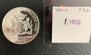 1977 Guyana $10 1.3 OZ Silver Proof & *No Reserve!