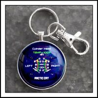 Arctic Cat Snowmobile temperature gauge photo keychain Great Gift 🎁