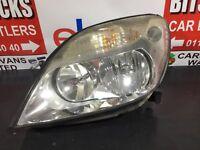 Renault Scenic Privilege Headlight/headlamp (passenger Side) Mpv 1999-2003