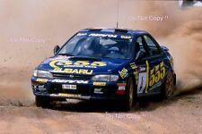 Colin McRae SUBARU IMPREZA 555 RALLY Australiano fotografia 1995 2