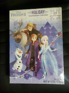 Disney Frozen II Holiday Countdown Calendar 24 Chocolates - Expires July 2023