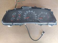 99-02  FORD DIESEL TRUCK GAUGE INSTRUMENT CLUSTER E7TF-10C956-A