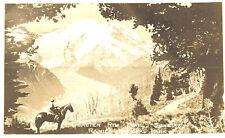 VIntage Postcard-Glacier Rim Trail,Sunrise, Rainier National Park, WA