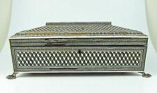 Antique indian sadeli mosaic SEWING BOX