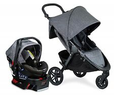 Britax B-Free Travel System Stroller with B-Safe Ultra Infant Car Seat Vibe NEW