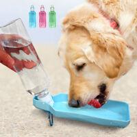 Portable Collapsible Dog Dispenser Feeder Pet Dog Travel Drink Bottle Bowl 500ML
