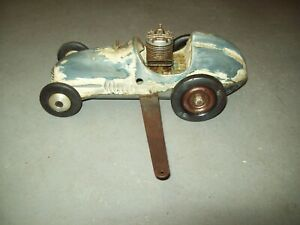 Vintage Real McCoy Gas Model Tether Race Car