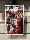 GiJoe 1982 1983 Cobra Trooper Custom Display Case With Card Back Insert