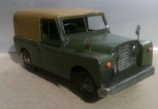 Hand Painted Tin Plate Model of the famous LAND ROVER series 1 2 2a + FREE Sign