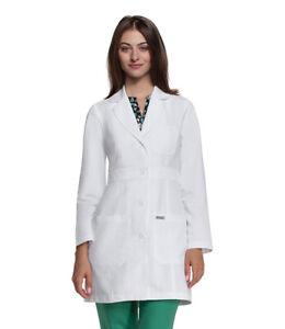 Grey's Anatomy Barco Womens Long Sleeve Lab Coat – Professional Full Length 3XL