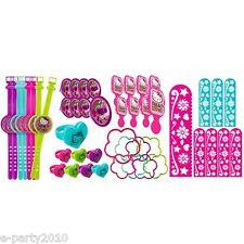 HELLO KITTY Rainbow FAVOR PACK (48pc) ~ Birthday Party Supplies Treat Loot Toys