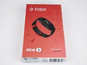 Fitbit Ace 3 Activity Tracker with Black Racer Red Band