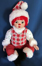 Marie Osmond  2003 Fine Collectibles Huggs - Mistle Ho Ho Ho Larg Christmas Doll