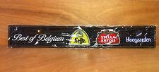 Stella Artois Leffe Hoegaarden Bar Rail Mat Beer Best Of Belgium ~ NEW & F/Shipn