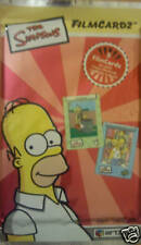THE SIMPSONS FILMCARDZ  TRADING CARDS BOOSTER PACK
