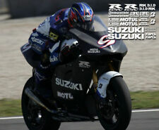 Track Bike decal kit fits suzuki gsxr motorcycles 2012 2014 2015 2016 2017