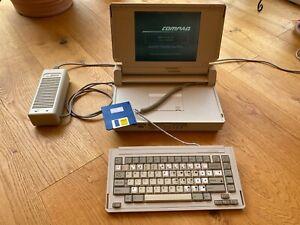 Compaq SLT 286/12 4MB Retro Computer PC - Funktioniert - refurbished