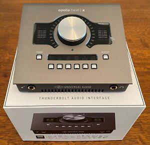 *MINT* Universal Audio Apollo Twin X Duo Audio Interface + UAD Plugins