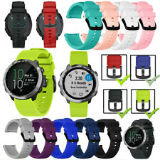 For Samsung Galaxy Watch 42mm/Active/Gear S2 20mm Silicone Bracelet Strap Band