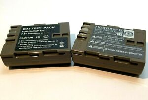 Two Replacement Battery for Fuji NP-150 NP150 BC-150 Fujifilm FinePix