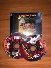 Indiana Jones and the Emperor's Tomb Jewel Case (PC, 2004) - Complete
