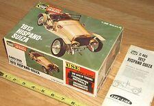 VINTAGE LIFE-LIKE HOBBY KITS-1912 HISPANO-SUIZA C465:200>BOX & INST ONLY-NO KIT