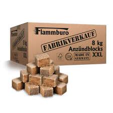 8 kg Öko Grillanzünder, Kaminanzünder, XXL Anzündwürfel - DIN zertifiziert