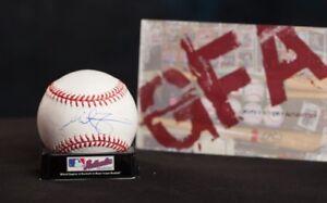 GFA Tampa Bay Rays MIKE ZUNINO Signed MLB Baseball Z4 COA
