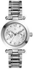 New GUESS Collections GC Women White Silver Tone Watch G26002L1 / 26002L1 NWTBox