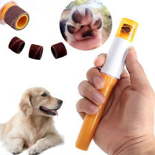 Nail Grinder Orange Electric Safe Trimmer Clipper Nail File Pet Claw for Pet Dog