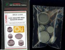 Green Strawberry Models 1/1000 U.S.S. KELVIN BUSSARD & SENSOR RESIN & PE SET