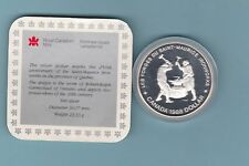 D31 CANADA 1988 SILVER PROOF DOLLAR IRON WORKS