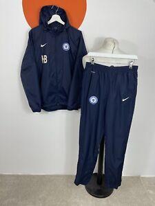 Men's Nike Soccer Peterborough United Tracksuit Navy Blue UK Size S Small