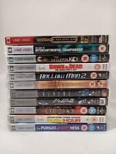 BUNDLE OF MOVIES FOR PSP UMD ELEVEN 11 FILMS