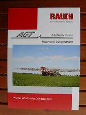 Rauch - AGT Pneumatik-Düngerstreuer - Prospekt Brochure 03.2009 (0463