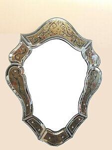 Miroir style Vénitien  Grand modèle  année 50
