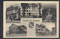 44398) Mehrbild AK Gruß aus Kassel 1956