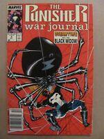Punisher War Journal #9 Marvel Comics 1988 Series Jim Lee Newsstand Edition