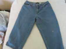 VERY NICE pair of Bill Bass Women's Jeans Easy Fit Capri - size 10p Comfortable
