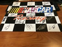 NASCAR Young Stars Autographed Signed Tin Hailie Deegan Chase Elliott more