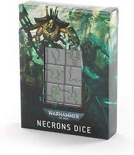 Necron dice set Warhammer 40000