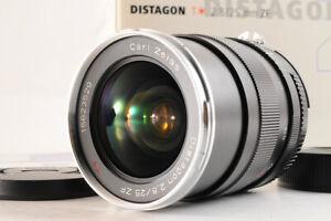 【TOP MINT】Carl Zeiss Distagon T 25mm F/2.8 ZF MF Camera Lens Nikon F Mount JP