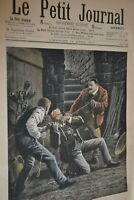 Supplément illustré Le Petit Journal N°856 / 14-4-1907 / Le crime de Langon