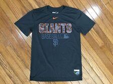 Nike San Francisco Giants Baseball Gray T-shirt Tee Sz S