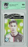 Cristiano Ronaldo 2020 Topps Living Set #200 1/10,942 Made Juventus Card PGI 10