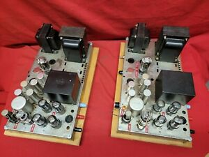 Capehart Western Electric 6V6 Tube Amplifiers [Pair]