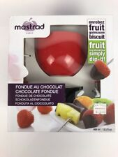 Mastrad Paris Fondue Au Chocolate maker machine dipper fountain - Fast Shipping