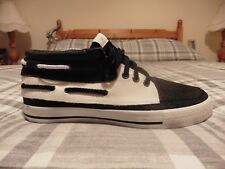 Maharishi Chaussures Bateau (UK 8/US 9/EUR 42) (marine/blanc)