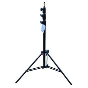 Manfrotto 1004BAC Tripod Master AC Black Max 12ft Tripode Lamp Stand